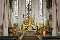Kath. Pfarr- und Wallfahrtskirche Hl. Kreuz und Mariä Himmelfahrt